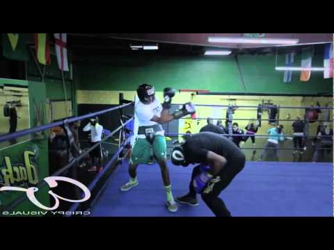 Son forced to fight professional boxer and...
