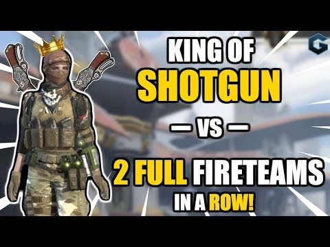 1v10 With INSANE Shotgun FLICKS! Solo~Fireteam Best Yet! // Rules of Survival
