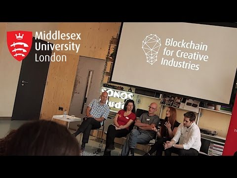 Music on the Blockchain launch  event