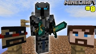 Minecraft: YOUTUBERS FACE GARDEN CHALLENGE [EPS7] [8]