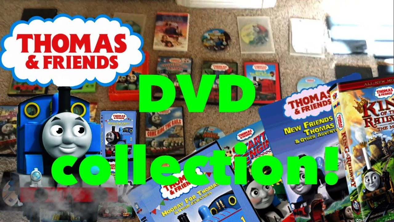 my thomas and friends dvd collection youtube