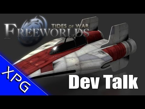 Freeworlds: Tides of War - Chat with the Devs - (Upcoming Sand Box Star Wars Freelancer Mod)