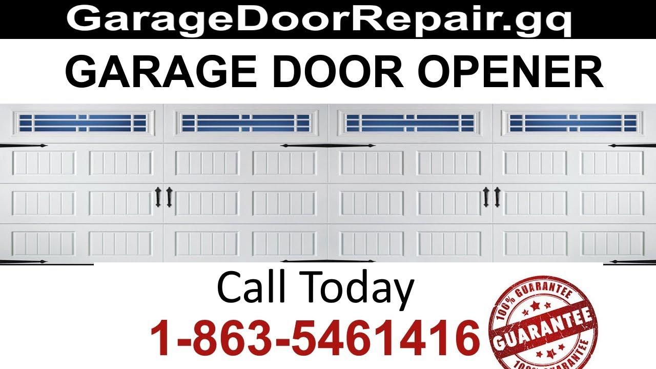 Garage Door Opener Repair Jupiter FL Call Today (863) 546 1416