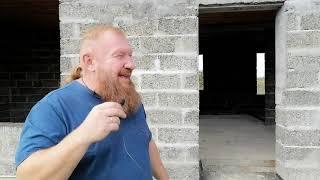 Дом из арболит блока стоит более 5 лет без фасада, Арболит Юг строительство домов под ключ