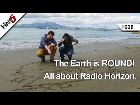 The Earth is ROUND! All about Radio Horizon, Hak5 1608
