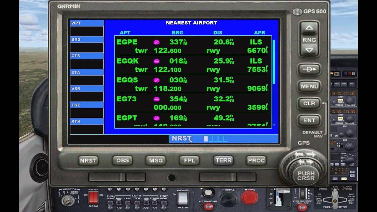 fsx tutorial gps navigation comprehensive garmin gps 500 guide rh youtube com garmin 500 manual garmin nuvi 500 manual pdf
