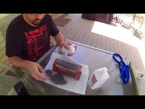 Cleaning a Sharpening Stone