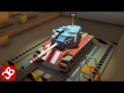 World Of Cartoon Tanks (By Super Games Studio) - iOS/Android - Gameplay Video