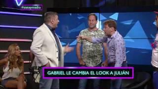 Desafío de moda: YONI RIVAROLA vs GABRIEL CANCI EN SIETE Y MEDIO