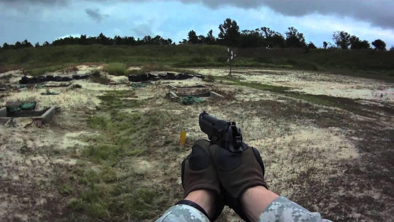 M9 Beretta Pistol Qualification Range