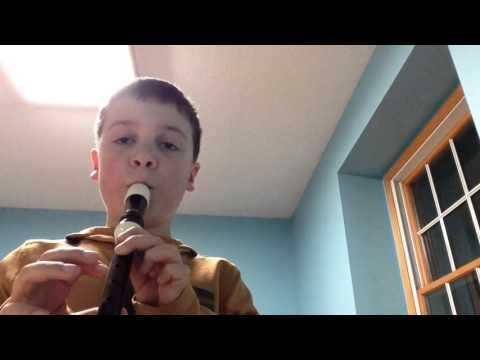 How to play Lord of the Rings Theme on recorder