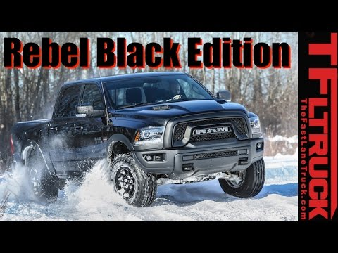 2017 Ram Rebel Black Edition: Available in All Rebel Colors