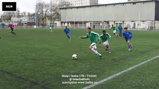 2018 02 03 U14 REGIONAUX MEUDON AS vs RED STAR FC
