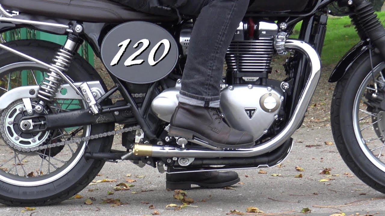 Triumph Bonneville T120 Custom Exhaust tips & Race plates, from BRITISH  CUSTOMS!