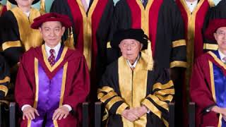 Superstar Andy Lau has received an honorary doctorate