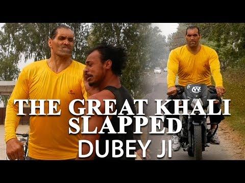 CWE | The Great Khali Slapped Dubey ji