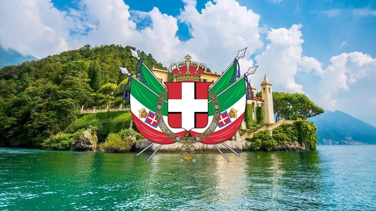 Kingdom of italy 1861 1946 marcia reale youtube for Be italia