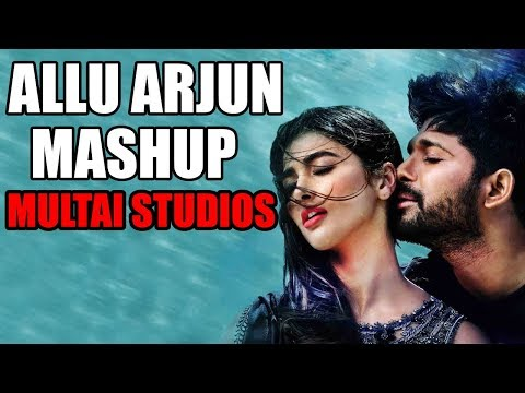 A Tribute Mashup To Allu Arjun Songs |  Allu Arjun Latest songs remix