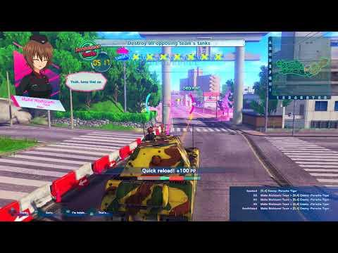 Girls Und Panzer: Dream Tank Match - Maus Challenges!