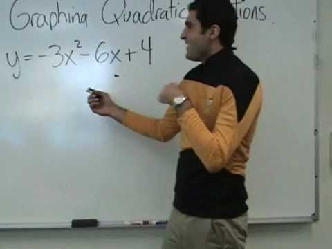 Algebra - Quadratic Functions (Parabolas)