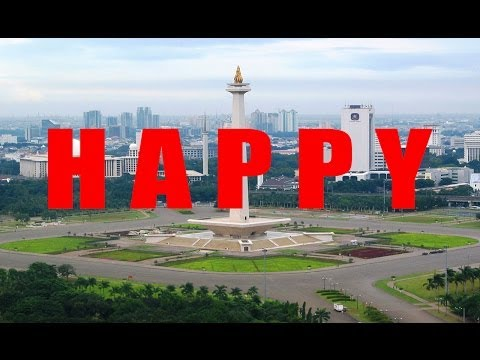 Pharrell - Happy (Greetings From Jakarta, Indonesia)