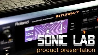 Roland Integra-7 Product Presentation for Sonic LAB