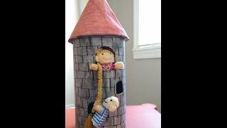 Kids Crafts - Princess Rapunzel