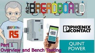 Power Supplies - the New QUINT4 -  pt1