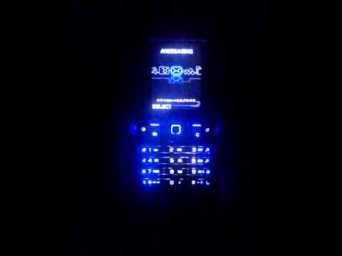 Sony Ericsson K770i light effect.