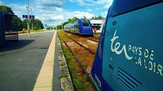 De Paris Austerlitz à Vendôme en cabine de l'X72645