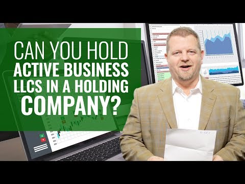 Holding Companies Explained (Rental LLCs and Active Business