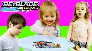 БОЛЬШОЙ БЕЙБЛЭЙД Переполох Сделала Сестра Эдика BeyBlade  Для Детей kids children(, 2018-03-12T14:58:18.000Z)