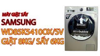 Máy Giặt Sấy Samsung WD85K5410OX/SV Giặt 8kg/ sấy 6kg - Pico.vn