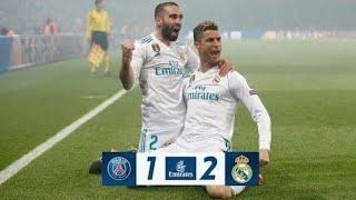 HASIL LIGA CHAMPION TADI MALAM 7 MARET 2018 PSG vs MADRID