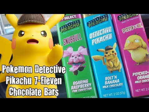 Carbs Pokemon Detective Pikachu 7 Eleven Chocolate Bars Gr8tube