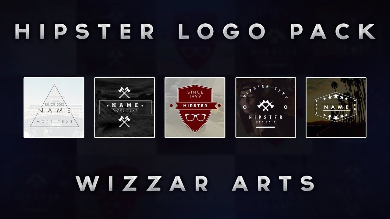 Hipster Logos Pack [FREE DOWNLOAD] - YouTube