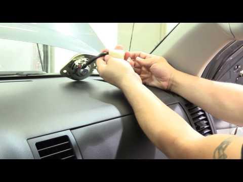 Toyota Tundra 2007- 2013 How To Remove Tweeter Dash Speaker Install Aftermarket Tweeters