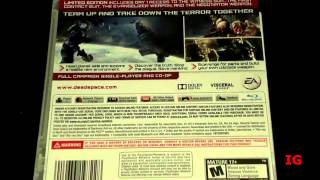 Dead Space 3 - PS3 Unboxing