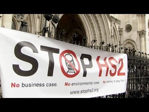 Newsdesk Live: HS2 court ruling: what does it mean for UK high speed rail?