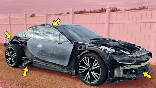 We Found All the HIDDEN Damage on my Cheap Auction Supercar