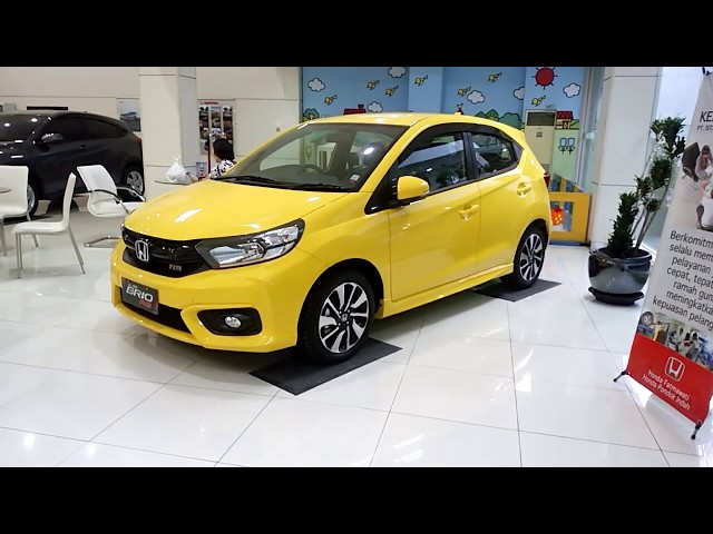 All New Brio RS Kuning