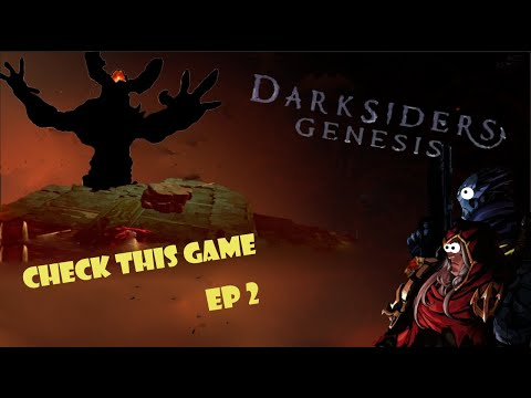 Darksiders Genesis - Ep 2- It's On NOW! - Check This Game |