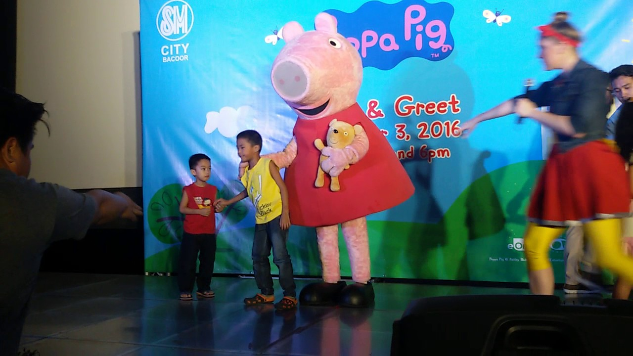 Meet And Greet Peppa Pig Youtube