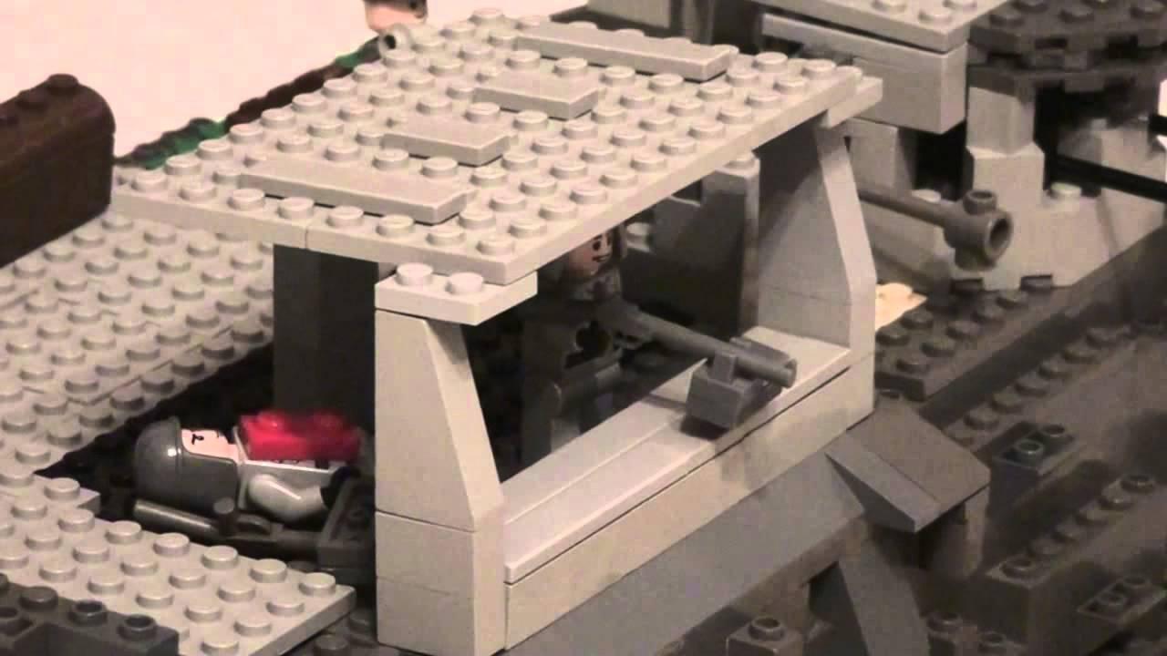 Lego Ii Wojna światowa Makieta Ataku Na Normandie Plaża Juno Youtube