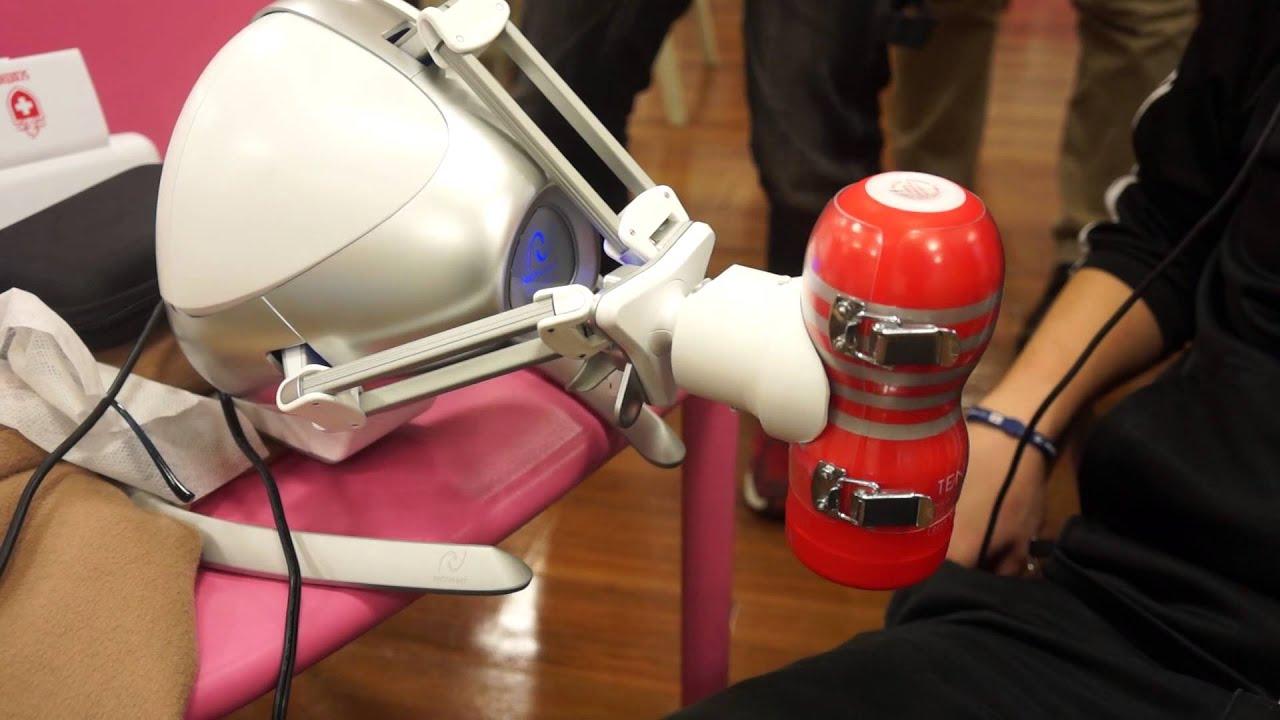 画像: VR TENGA DEMO (1): Oculus Rift+Novint Falcon+TENGA www.youtube.com