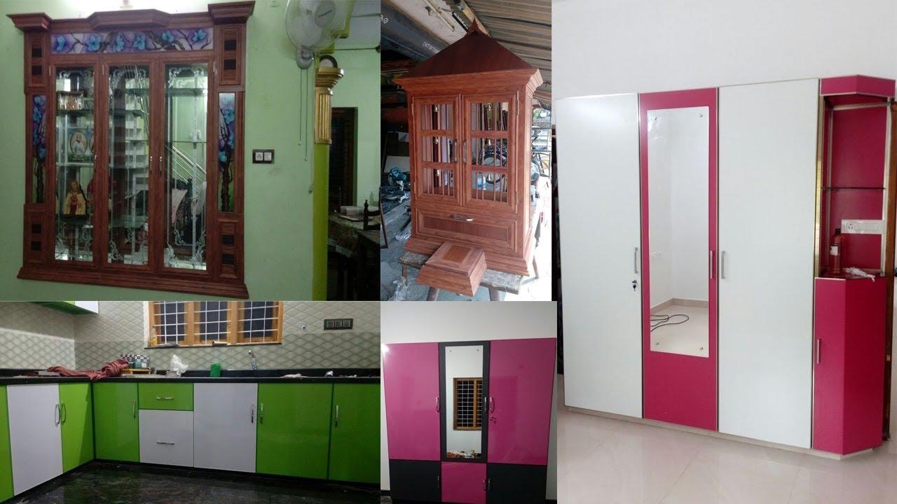 New Aluminum Frame Cabinet Doors | Aluminum Kitchen Cabinet Doors / Pooja  Room