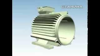 Сборка асинхронного электродвигателя