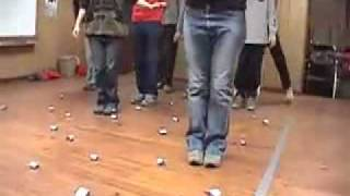 Minefield -- Duct Tape Teambuilding Game