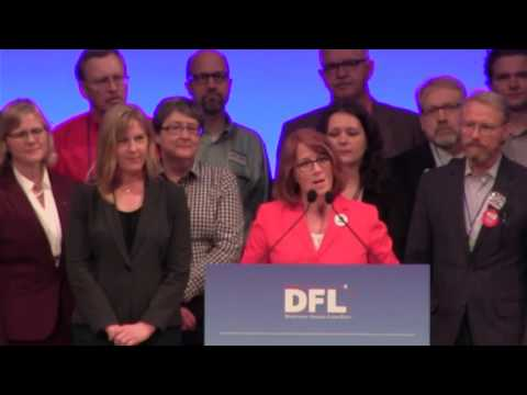 Rep. Erin Murphy Speaks At MN DFL Convention