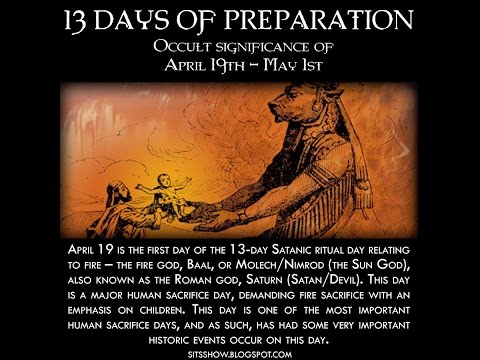 """13 Days of Terror"" (Apr 19th-May 1)"